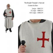 The Knights Templar Surcoat - Pure Wool